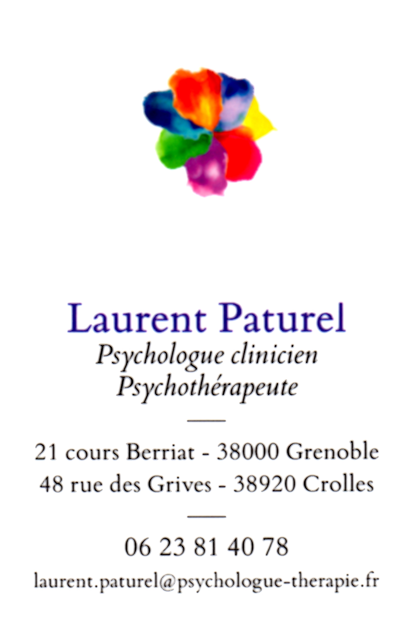 Laurent Paturel Psychologue Psychothérapeute Grenoble Crolles