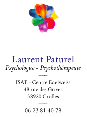Laurent         Paturel psychologue - psychothérapeute